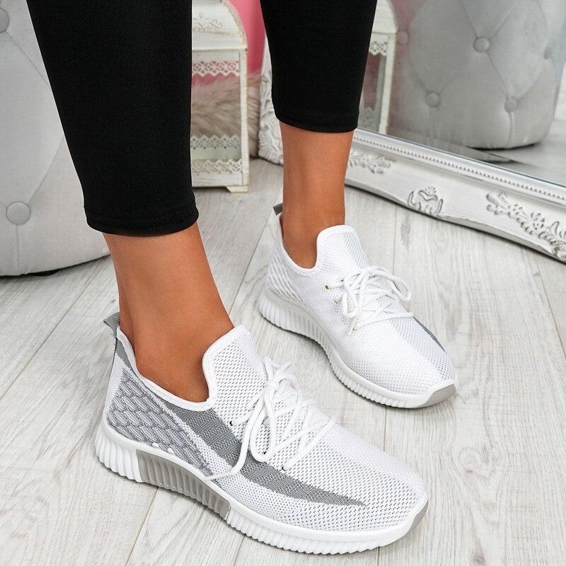 Puimentiua Women Shoes Summer Sneakers Basket Femme Vulcanized Shoes Female Mesh Sneakers Women Casual Shoes Dropshipping