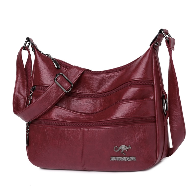 New Fashion Soft Leather Bags Women