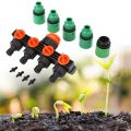 4 Way Tap Garden Tap Irrigation Valve Lightness and Portability No Space Occupy Hose Pipe Splitter Gardening Irrigation